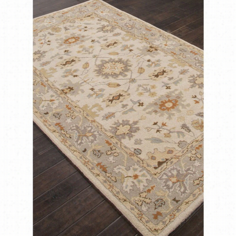 Jaipur Rugs Poeme Maxine Indoor Area Rug Moon Rock, Size: 8 x 10 ft.