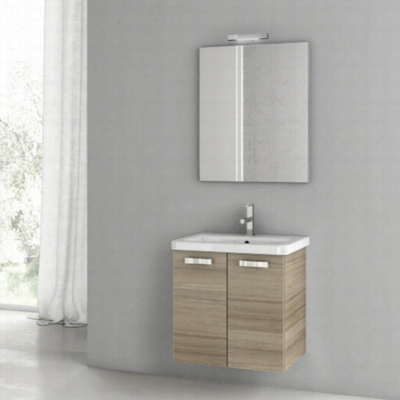 ACF by Nameeks ACF CP01-LC City Play 22-in. Single Bathroom Vanity Set