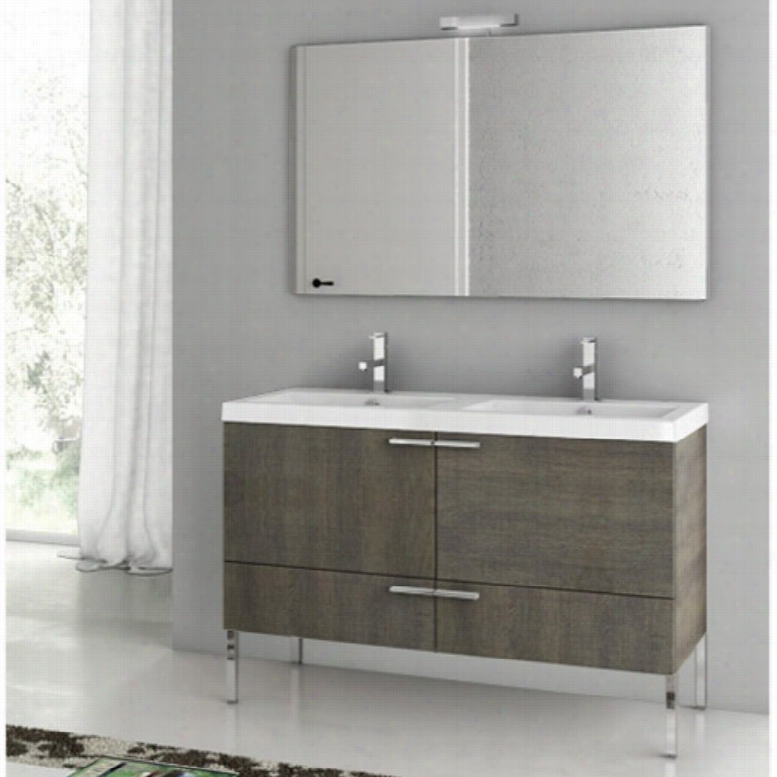 ACF by Nameeks ACF ANS07-GO New Space 47-in. Double Bathroom Vanity Set