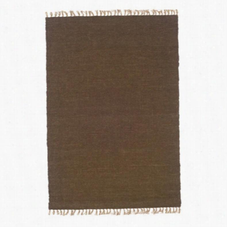 Linon Verginia Berber Cocoa Area Rug, Size: 1.10 x 2.10 ft.
