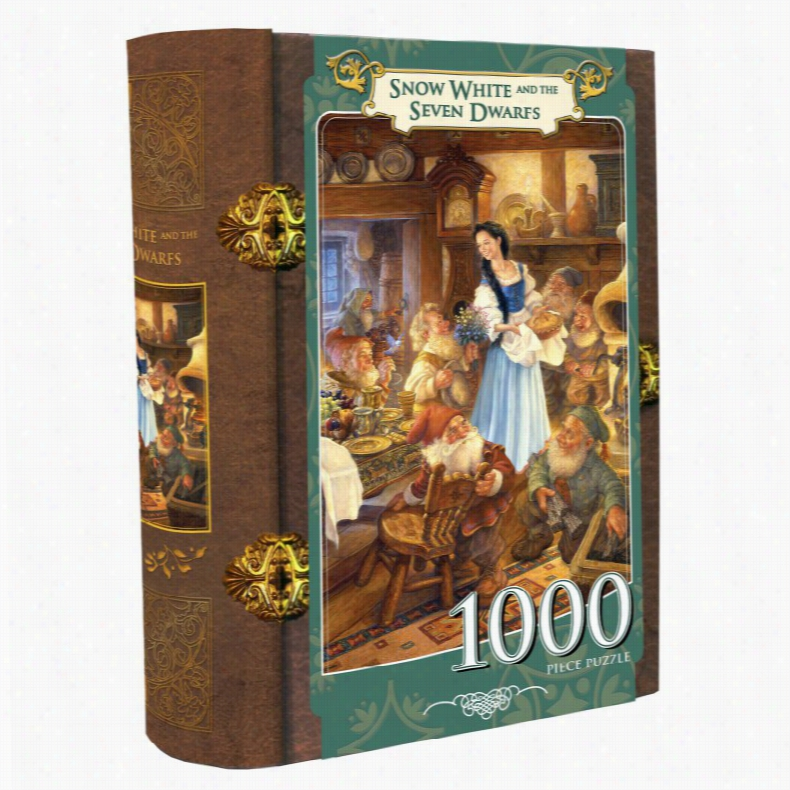 Masterpieces Snow White and the Seven Dwarves Book Box Puzzle