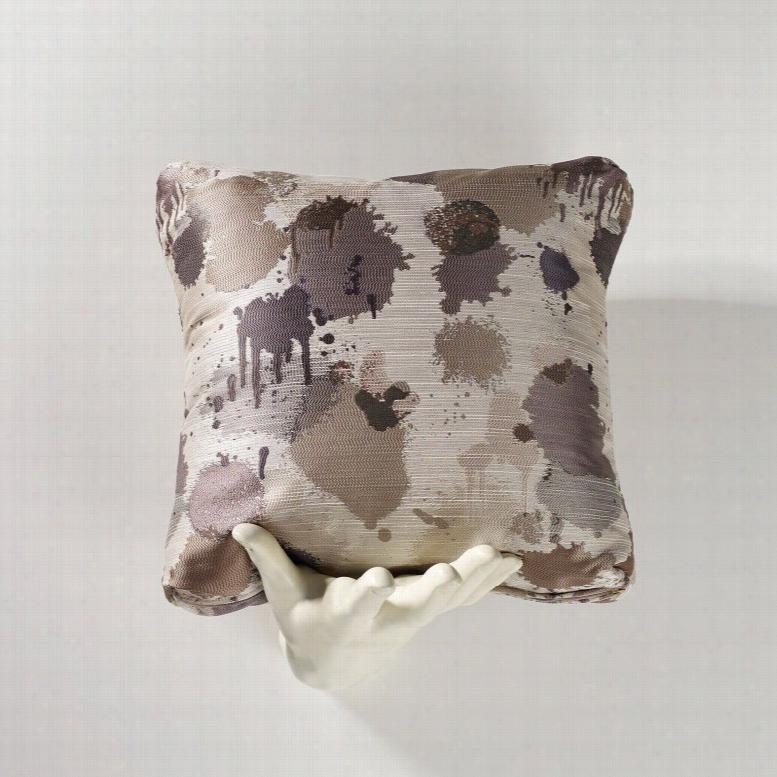 Homeware Paint Splatter Accent Throw Pillow Set