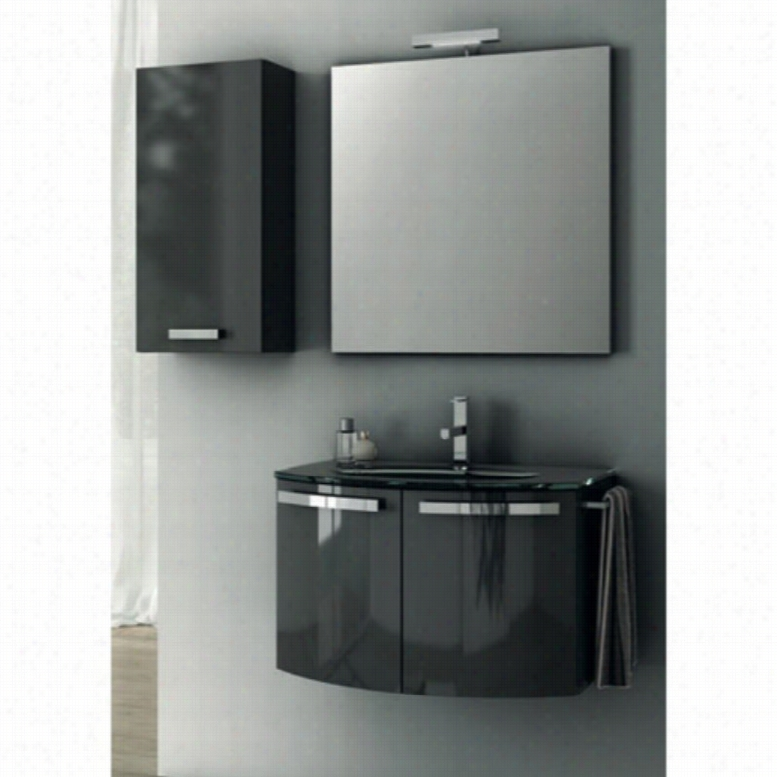 ACF by Nameeks ACF CD04-GA Crystal Dance 28-in. Single Bathroom Vanity Set