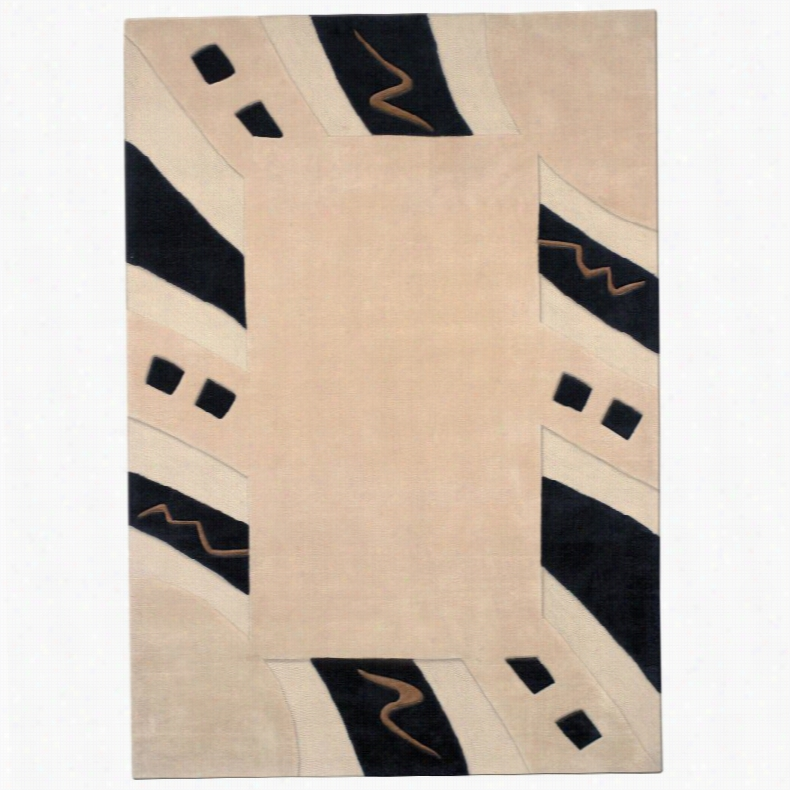 Dynamic Rugs Mystique Nude 2011 Area Rug, Size: 6.7 x 9.6 ft.