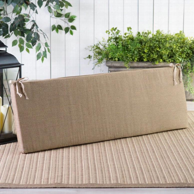 POLYWOOD® 57.5 x 17 Sunbrella Bench Cushion Sunbrella Birds Eye