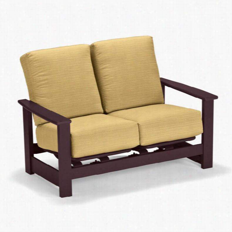 Telescope Casual Leeward Deep Seat Cushion Loveseat