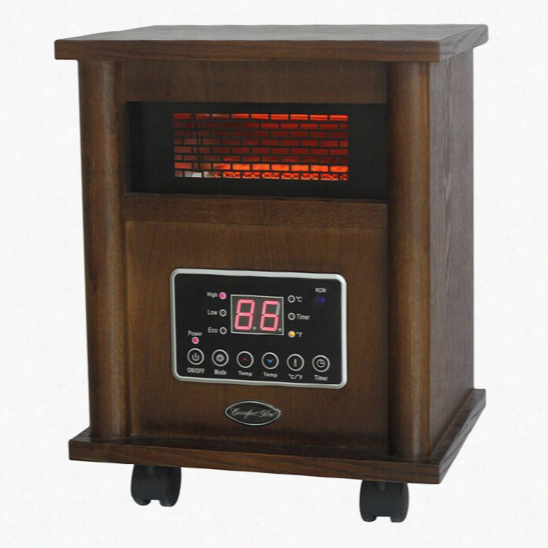 Comfort Glow QEH1400 Compact Deluxe Infrared Electric Heater