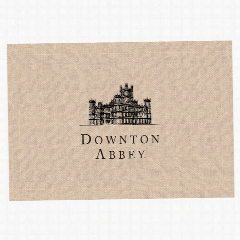 Downton Abbey by Heritage Lace Downton Castle Placemat
