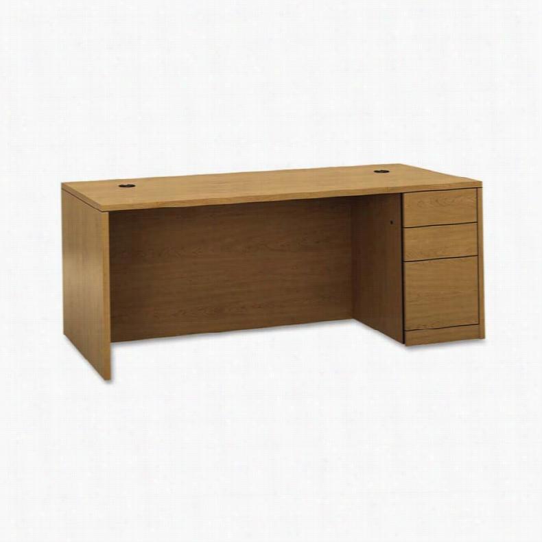 HON 10500 Series 3 Drawer Right Pedestal Desk