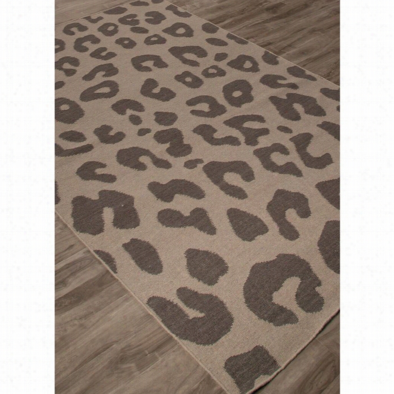 Jaipur Rugs National Geographic Home Collection Jaguar Indoor Area Rug Cobblestone, Size: 5 x 8 ft.