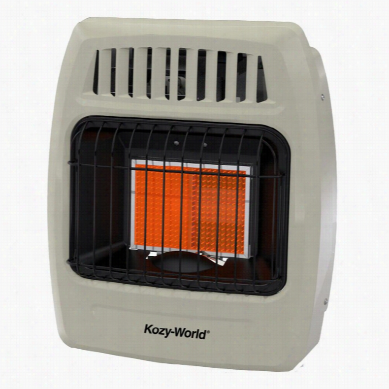 Kozy World 2 Plaque Infrared Wall Heater