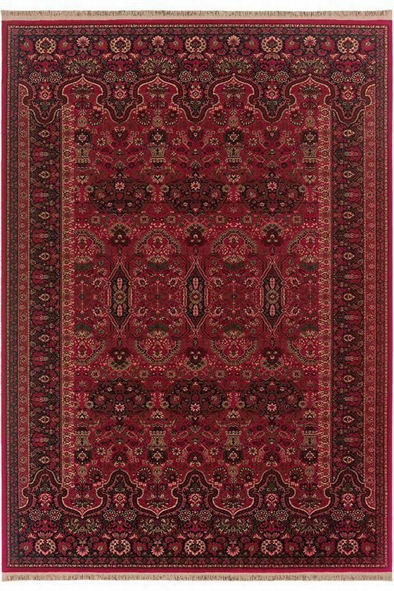 "Brumfield Area Rug - 7'10""X10'3"", Brick Red"