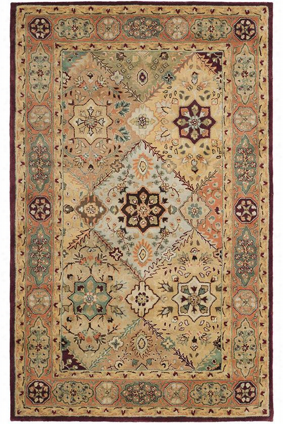 "Chapel Area Rug - 2'6""X8' Runner, Red"