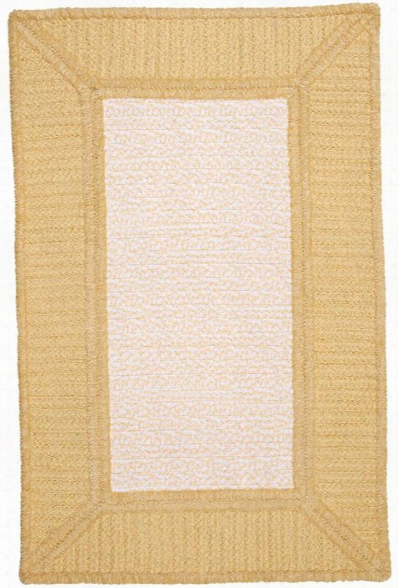 Gravel Bay Braided Area Rug - 10'X13', Banana