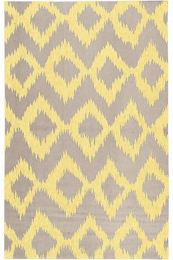 Mystic Wool Area Rug - 8'X11', Gray