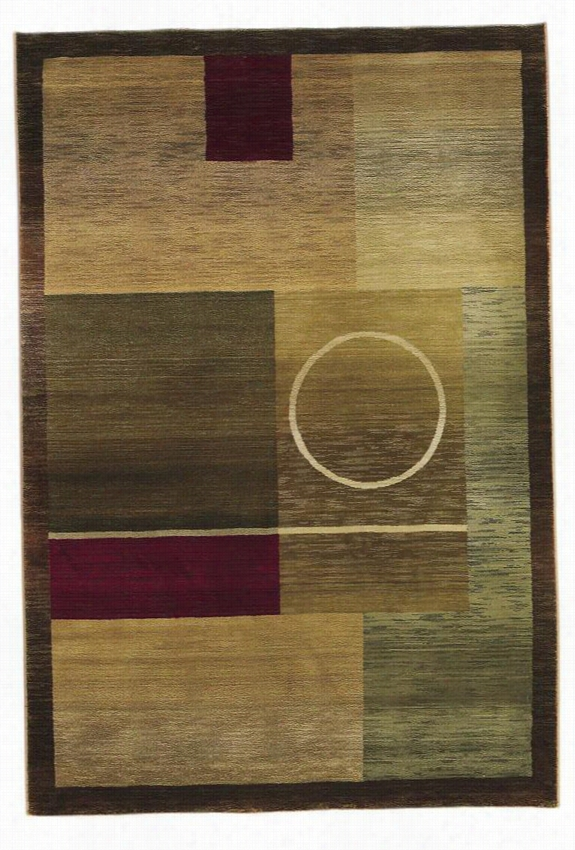 "Oriental Weavers Om Area Rug - 9'9""X12'2"", Multi"