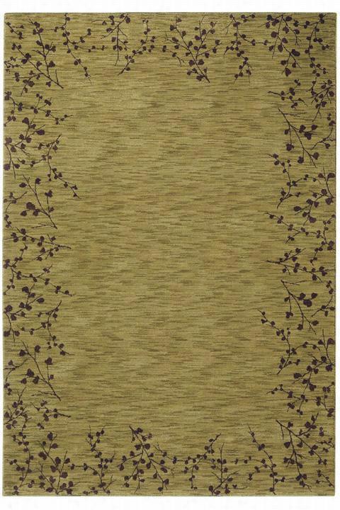 "Oriental Weavers Vines Ii Area Rug - 7'8""X10'10"", Green"