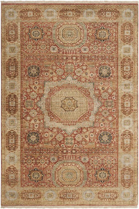 Payas Area Rug - 9'X13', Coral