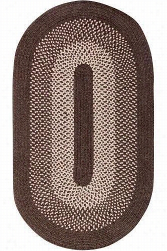 Portland Wool Blend Area Rug - 2'X9' Runner, Brown