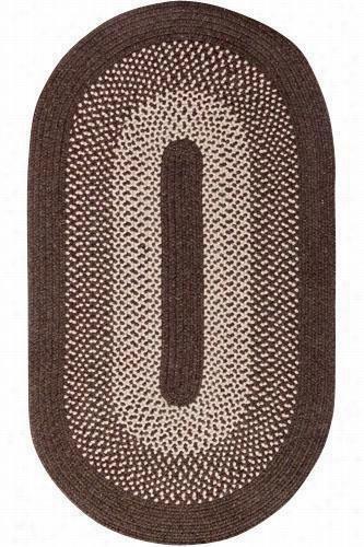 Portland Wool Blend Area Rug - 2'X9' Runner, Brown