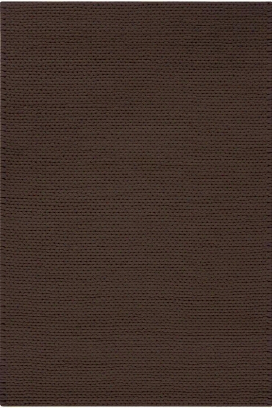Stitch Area Rug - 5'X8', Chocolate Brown