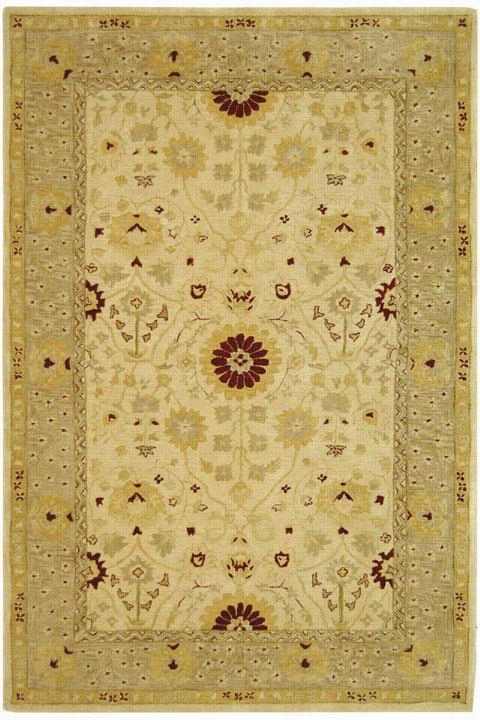 Turhal Area Rug - 9'X12', Beige