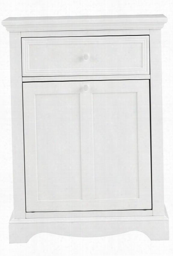 """Fremont Clothes Laundry Hamper - 33""""Hx24.5""""Wx16""""D, White"""