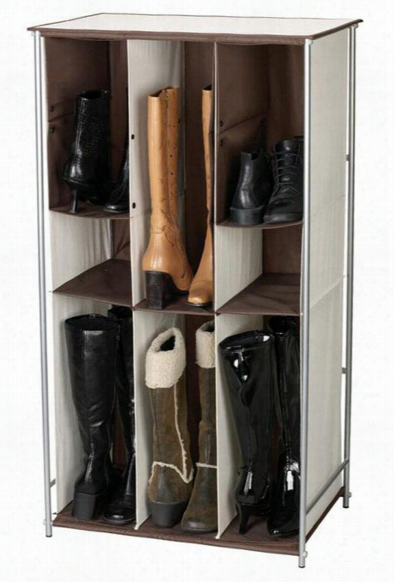 "Transformer Boot Storage - 41.5""Hx23""W, Ivory"