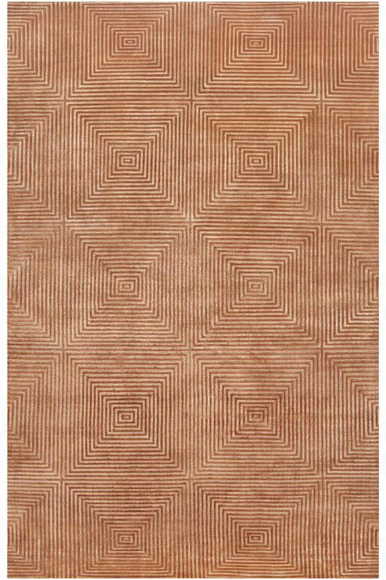 Warren Wool Area Rug - 5'X8', Cinnamon Spice