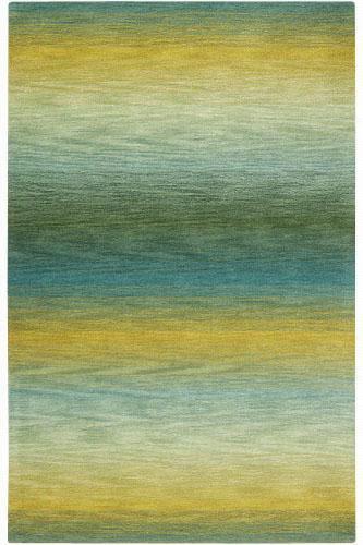 Fadeaway Area Rug - 8'X10', Turquoise