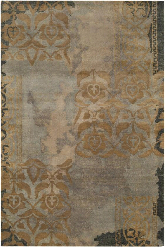 Ivette Area Rug - 8'X11', Stormy Sea