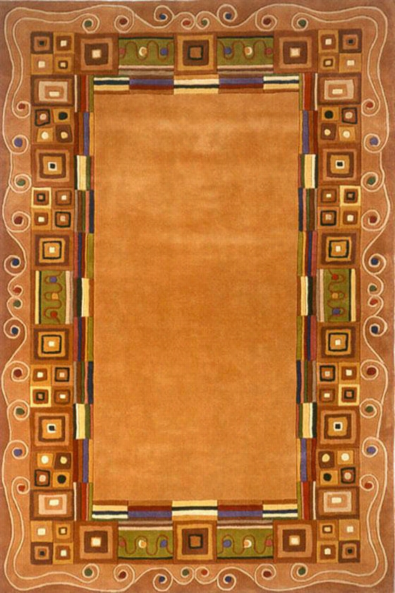 "Momeni Arista Area Rug - 3'6""X5'6"", Gold"