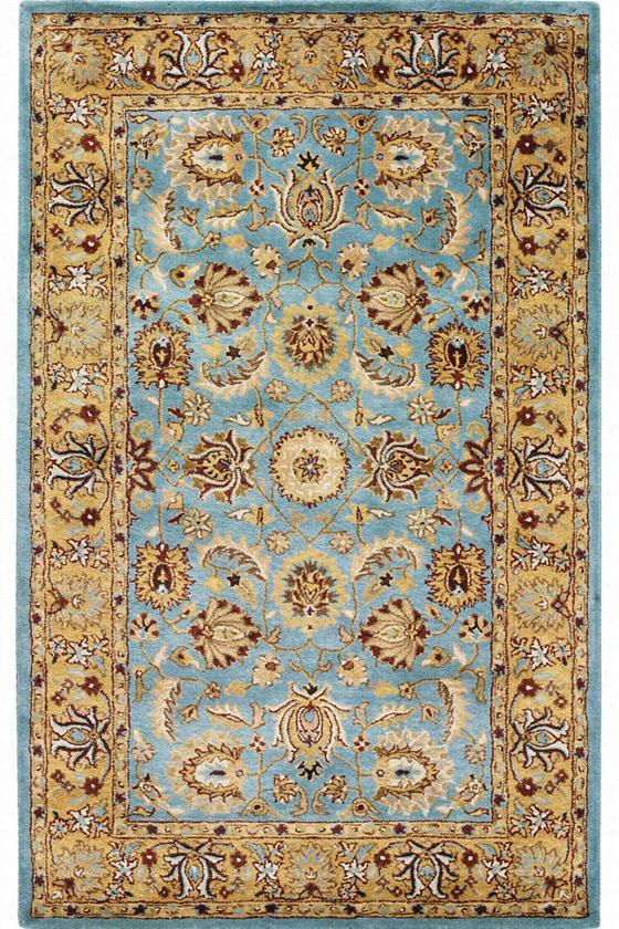 "Picarty Area Rug - 9'6""X13'6"", Blue"