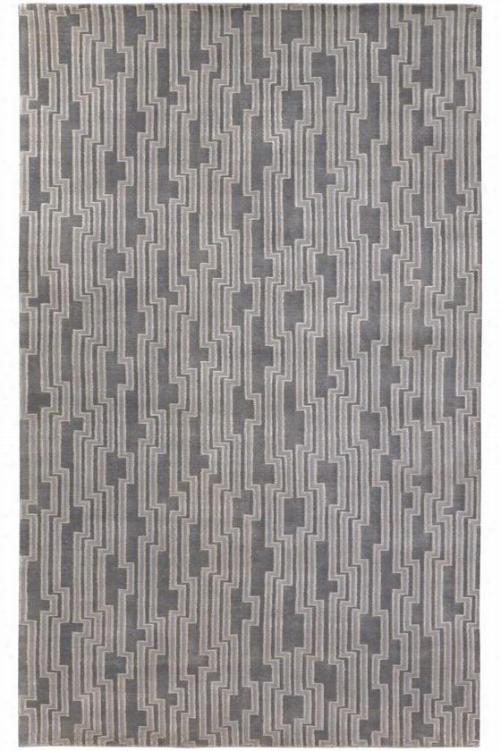 Saginaw Area Rug - 8'X11', Gray