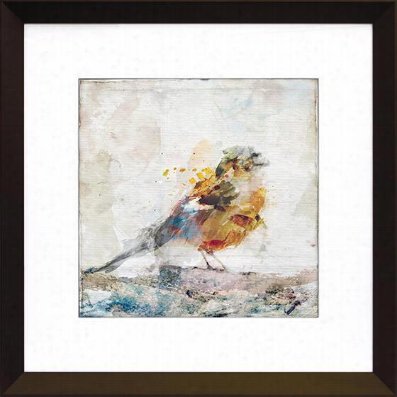Watercolor Bird Wall Art - Watercolor Bird, Zoey Riley