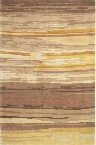 Momeni Flying Skies Area Rug - 8'X11', Salmon