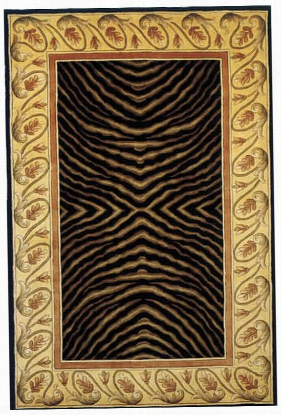 "Momeni Safari Area Rug - 9'6""X13'6"", Black"