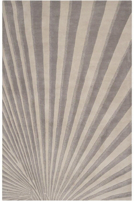 Nouveau Area Rug Ii - 9'X13', Oyster Gray