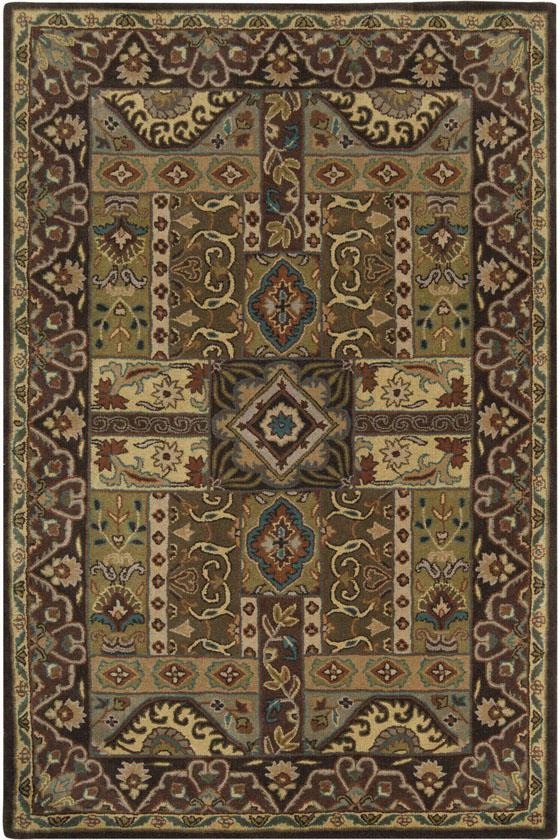 "Pierre Area Rug - 9'9"" Square, Brown"