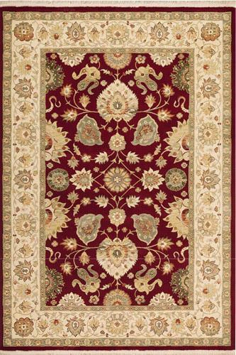"Royalty Area Rug - 7'10"" Round, Brick Red"