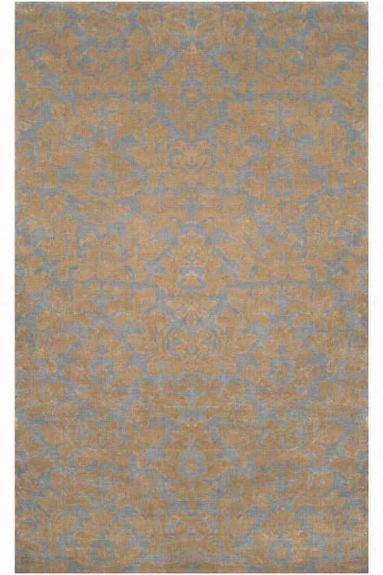 Thurston Area Rug - 5'X8', Mossy Gold