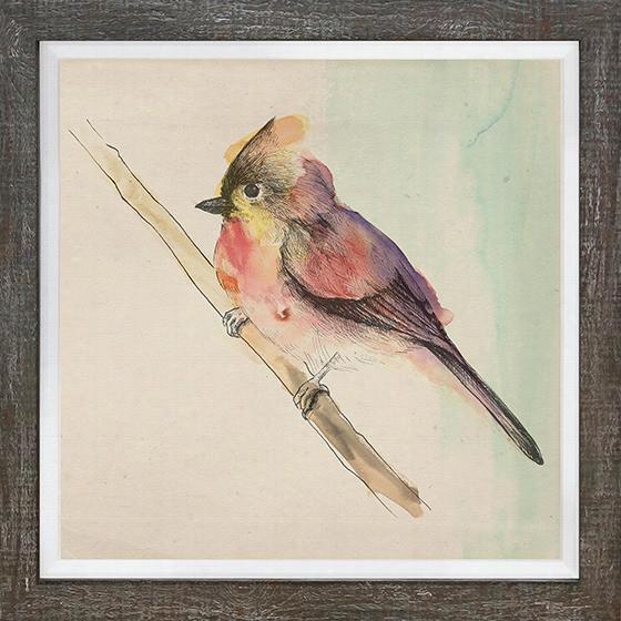 Pretty Little Bird Framed Wall Art - Pretty Little B, Michelle Bennett
