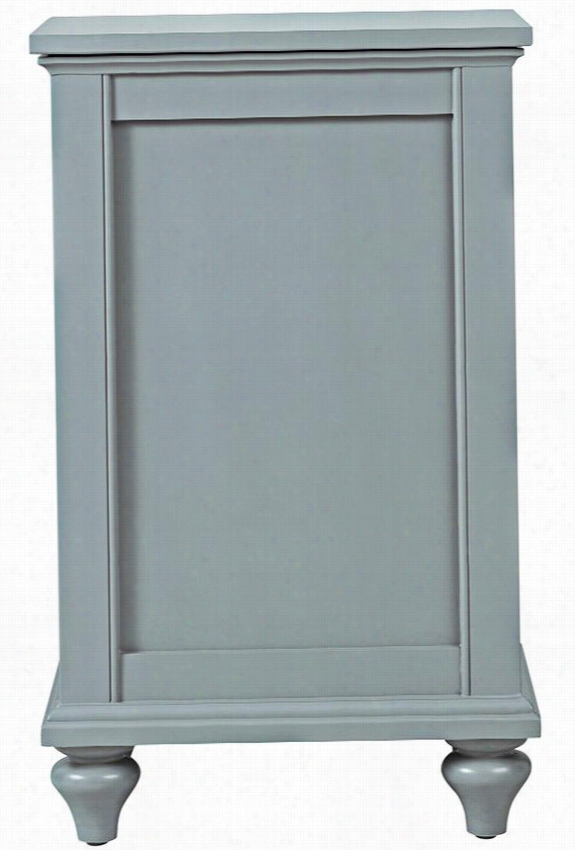 """Hamilton Lift-Top Clothes Laundry Hamper - 30.5""""Hx18.5""""Wx14.5""""D, Sage"""
