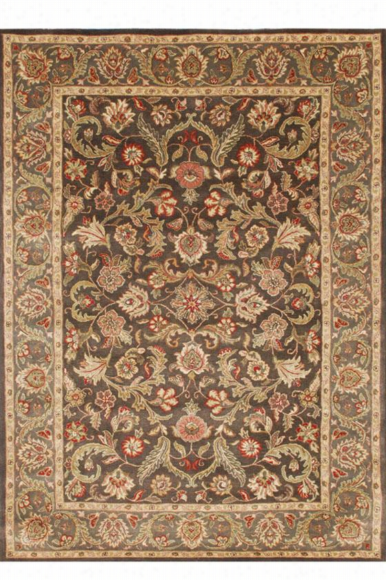 "Marielle Area Rug - 9'6X13'6"", Brown"