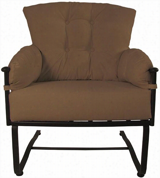 "Laurel Spring Chair - 41""Hx34""Wx32""D, Cocoa Sunbrella"