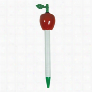 Clicker Apple Ballpoint Pen