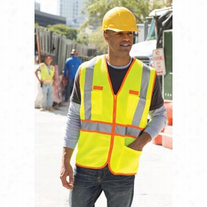CornerStone ANSI Class 3 Dual-Color Safety Vest