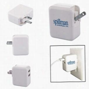 Duo USB to AC Adapter - UL Certified