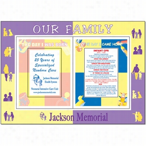 Large Magnetic Photo Frame(Triple frame cut-out)