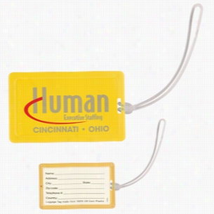 NatureAd Corn Plastic Luggage Tag